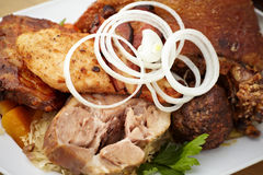 Meat feast Royalty Free Stock Photo