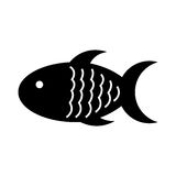 Meat fish isolated icon. Vector illustration design Stock Photography