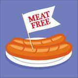 Meat Free Sausages Stock Photos