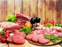 Meat. Freshness Butcher's Shop Beef Raw Supermarket Pork Stock Photos
