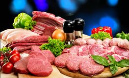 Meat Freshness Stock Photo