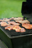 Meat on the grill Royalty Free Stock Photos