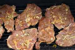 Meat grill Stock Photo