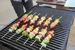 Meat grill Stock Images