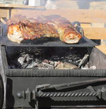 Meat on the grill Royalty Free Stock Photography