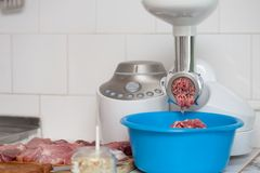 Meat grinder Stock Images