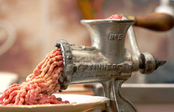 Meat grinder Royalty Free Stock Images