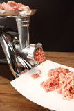 Meat grinder stock photos