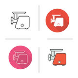 Meat grinder icon Stock Image