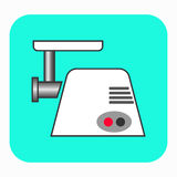 The meat grinder icon. Royalty Free Stock Images