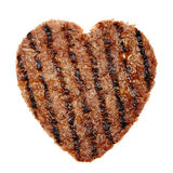 Meat heart Royalty Free Stock Photos
