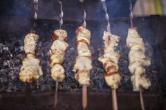 Meat Grilling stock images