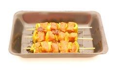 Meat kebabs  Stock Photo