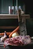 Meat of lamb Stock Image