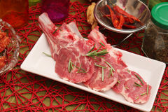 Meat of a lamb Stock Image