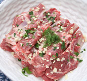 Meat of a lamb Stock Photography