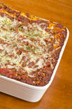Meat Lasagna 1 Stock Image
