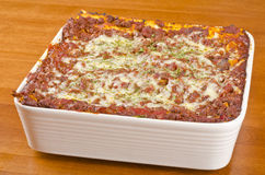 Meat Lasagna #2 Stock Photography