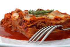 Meat Lasagna Stock Photo