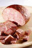 Meat loaf. Traditionally prepared Meat loaf from Slovenia Stock Photos