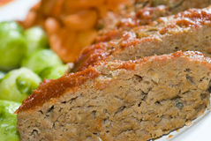 Meat loaf with brussels