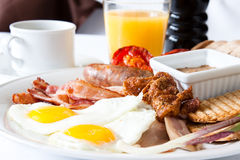 Meat Lover's Breakfast Stock Photos