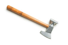 Meat mallet. On white background royalty free stock images