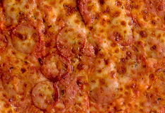 Meat mania pizza Royalty Free Stock Image
