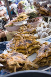 Meat at the market royalty free stock photography