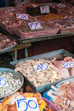 Meat at a Market. In Bangkok Thailand Royalty Free Stock Image