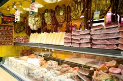 Meat Market Royalty Free Stock Photography