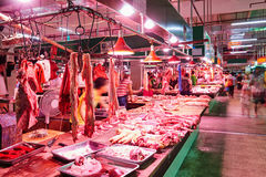 Meat market Stock Images