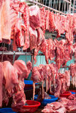 Meat at market Stock Photo