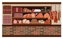 Meat market. Stock Image