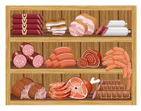 Meat market. Stock Images