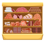 Meat market. Royalty Free Stock Photography