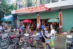 Meat markets Royalty Free Stock Photos