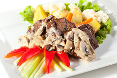 Meat Medallions Stock Image