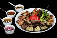 Meat Menu Stock Image