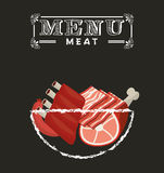 Meat menu Royalty Free Stock Photo