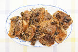Meat with mushrooms Royalty Free Stock Photos