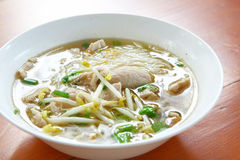Meat noodles soup Stock Photography