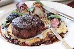 Meat och potatisar Royaltyfri Foto