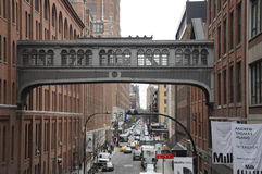 Meat Packing District New York City Royalty Free Stock Photography