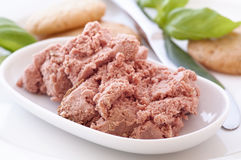 Meat paste Stock Image