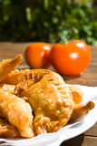 Meat pastries Stock Image