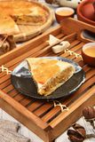 Meat pasty. Taiwan`s  traditional cake - Meat pasty Royalty Free Stock Images
