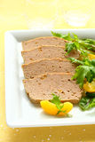 Meat pate royalty free stock photography