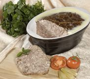 Meat Pate Royalty Free Stock Images