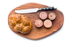 Meat pate with different flavors Royalty Free Stock Images